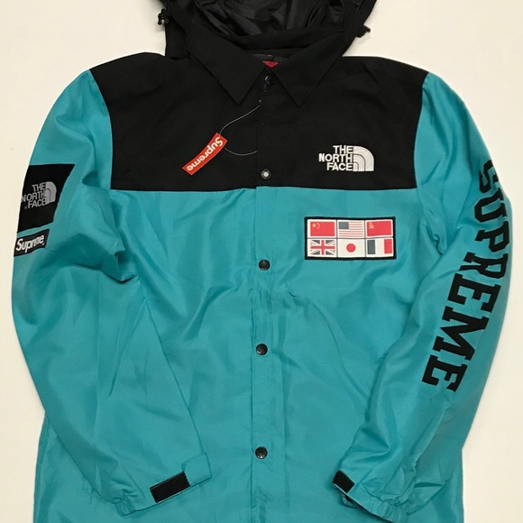 ec3eb9283 Supreme x The North Face Map Jacket NWT